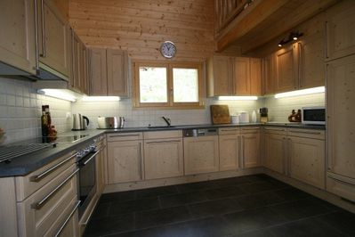 Chalet Forget Me Not- kitchen