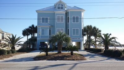 Photo for Beautiful custom built (in 2006) private home located directly on the Gulf.