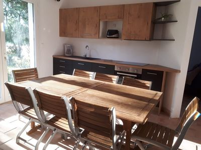 Photo for Air-conditioned house in the countryside, swimming pool, ideally located