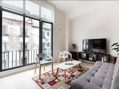 Photo for Stylish Donceles - Modern loft in Donceles street in CDMX downtown