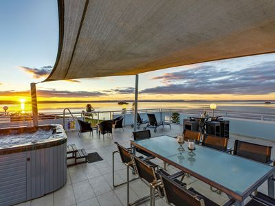 Photo for Exclusive & Luxurious 2 level,  Penthouse with Hot Tub & BBQS