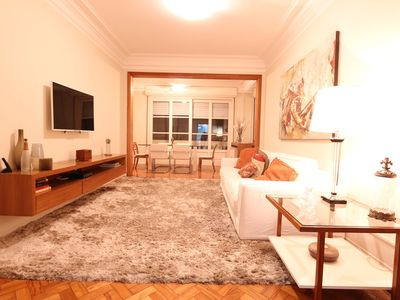 Photo for Large and comfortable apartment in Copacabana #344