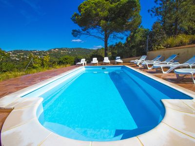 Photo for Catalunya Casas: Relaxing Villa Lloraine in Costa Brava with mountains views. For 10 guests!