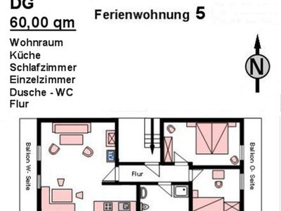 Photo for Apartment No. 5 (2 bedrooms) - House Marina