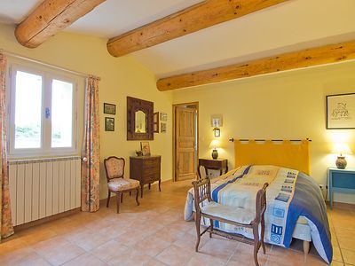 Photo for Vacation home Les Cotes in Saint Martin de Castillon - 8 persons, 3 bedrooms
