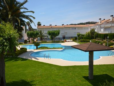 Photo for INCREDIBLE HOUSE IN S'AGARÓ, WITH GREAT GARDENS AND TWO POOLS