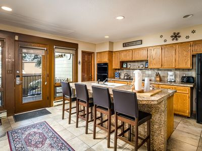 Photo for Updated Kitchen & Living - 200ft to Slopes - Hot Tubs - Discount Lift Tix Avail