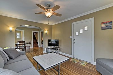 Explore Rochester from this 3-bedroom vacation rental house.