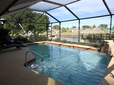 Photo for Waterfront-solar heated Pool-Patio!