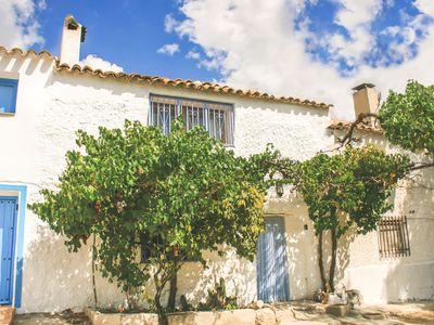 Photo for Traditional Andalucian cottage in a remarkable location. Sleeps 7