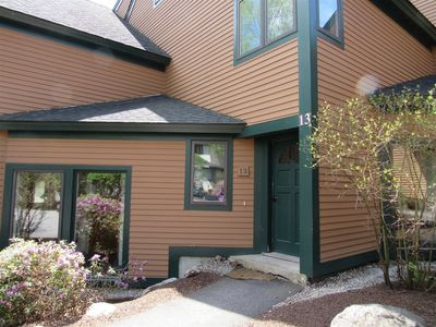 Photo for Family friendly condo in Waterville Valley Resort
