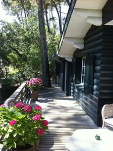 Photo for House wood cap-ferret 6 rooms very pleasant
