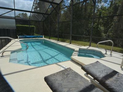 Photo for 4-Bed Disney Area Pool Home w/Private Conservation View & Outdoor Spa