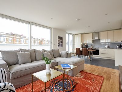Photo for Bright 2BR Penthouse in Camden by Sonder