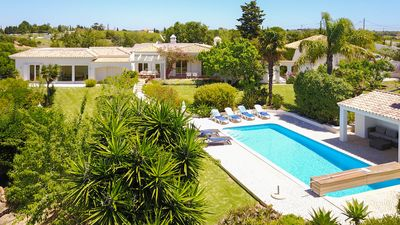 Photo for UP TO 20% OFF!  Peaceful villa, private solar heated pool, garden, AC, free WiFi