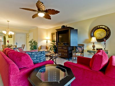 Photo for Nicely Decorated South-End Condo Only 300 Ft to Beach, Pet Friendly, Elevator