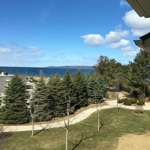 Photo for Stunning views of Little Traverse Bay from this beautiful Petoskey Condominium