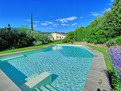 Photo for Private Villa with A/C, WIFI, private pool, TV, patio, pets allowed, panoramic view, parking