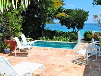 Photo for Luxury Villa just steps to your own Beach!   20% Off Select Dates!! Inquire Now!