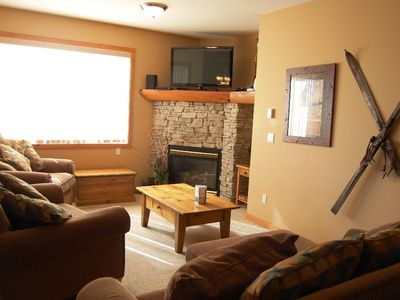 Photo for Big White Snowy Creek #04: 2 Bedroom Premium + Den with Hot Tub