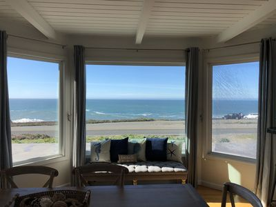 Photo for Unobstructed Ocean Views Steps from Carmet, Marshall Gulch, Schoolhouse Beaches