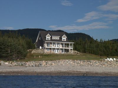 Photo for Green Gate Cottage...charming oceanfront cottage with breathtaking views.