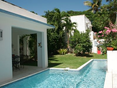 Photo for Coqui - Romantic & cozy apartment near the Beach, with Pool