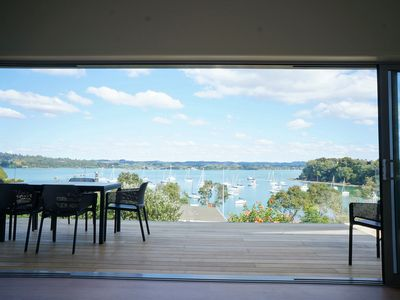Photo for Stunning modern renovation in a beautiful bay