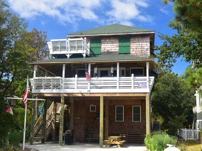Photo for Pookie's Cottage - Historic Nags Head Beach Cottage. Rent this living museum just blocks from the beach!