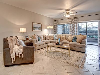 Photo for Stunning 2 bd 2 bth Ground Floor Condo Lake Conroe Near Clubhouse!