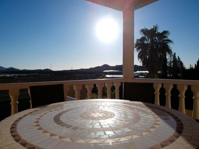 Photo for Villa with private pool 8 minutes from the beach of Vera Playa and the village of Vera