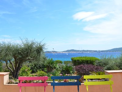 Photo for DISCOUNT - Villa by the beach and with panoramic view on St Tropez
