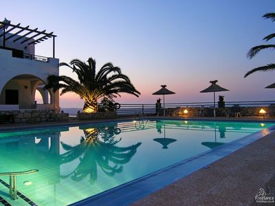 Photo for Aptera Apartment, Sleeps 5 with Pool and Air Con