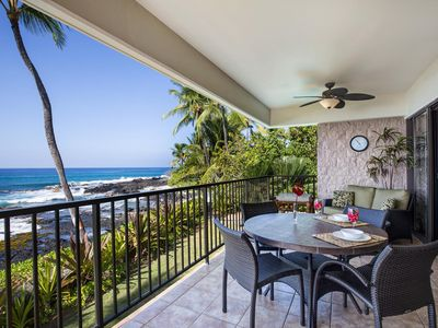 Photo for Beautiful Oceanfront Condo | Steps from Beach | Complete Remodel | Starts at $249/n