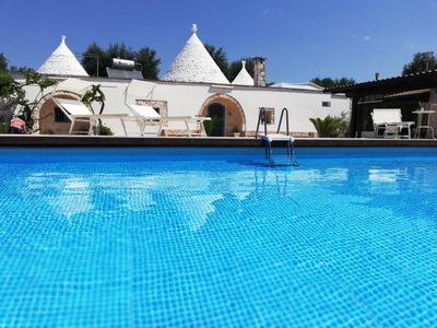 Photo for 3 bedroom Villa, sleeps 6 in San Michele Salentino with Pool and Air Con