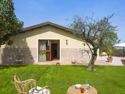 Photo for Gorgeous Holiday Home in San Costanzo with Roofed Terrace