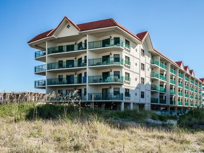 Photo for Beautiful beachfront condo, two bedroom/two full bath