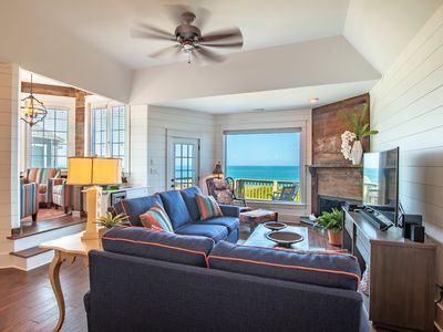 Photo for The Seas Embrace | Oceanfront | Sea Pointe | Nags Head | Sleeps 12