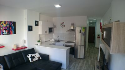 Photo for Apartment next to Calle San Miguel and near the beach