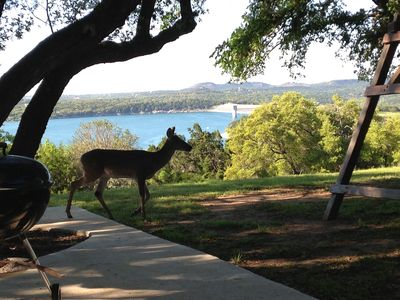 Photo for Our home overlooks the beautiful Canyon Lake, & 3 miles to the Guadalupe River!