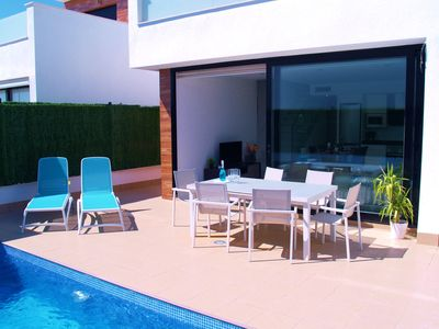 Photo for Costa Blanca, Mar Menor: A luxurious new build Villa