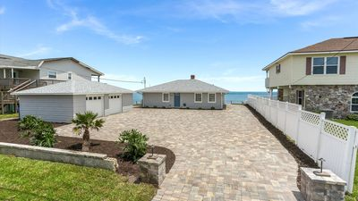 Photo for Casually coastal 3 bedroom.  Right on the beach and minutes from St. Augustine.