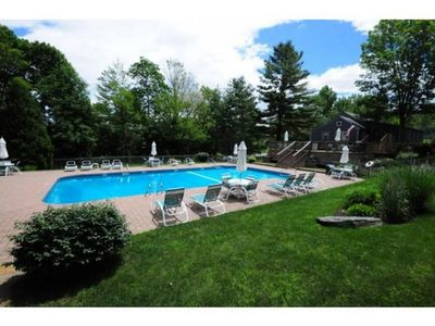 Shared Heated Pool - Open in Summer Months