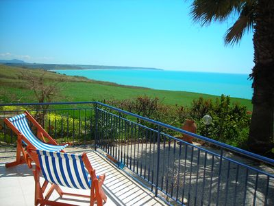 Photo for wonderful Mediterranean Villa at 200 meters from the sea to portopalo di menfi
