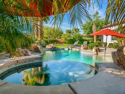 Photo for 'Villa Blanca' 6BR/5.5BA, Private Pool, Large Yard, Gated, Sleeps 12