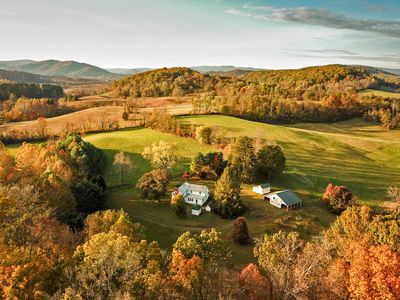 Photo for A quiet, lovely old farm on a beautiful piece of land near Shenandoah Park