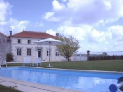 Photo for Large farmhouse/ villa, private pool, with enclosed garden.