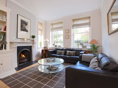 Photo for Homely 2 bedroom flat situated next to Battersea Park. (Veeve)