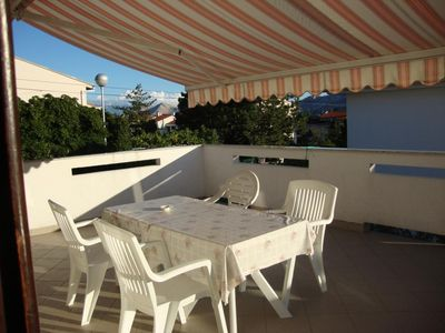 Photo for Four bedroom apartment with terrace Baška, Krk (A-5412-b)