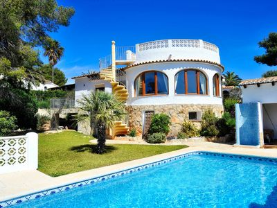 Photo for This 2-bedroom villa for up to 4 guests is located in Javea and has a private swimming pool and air-